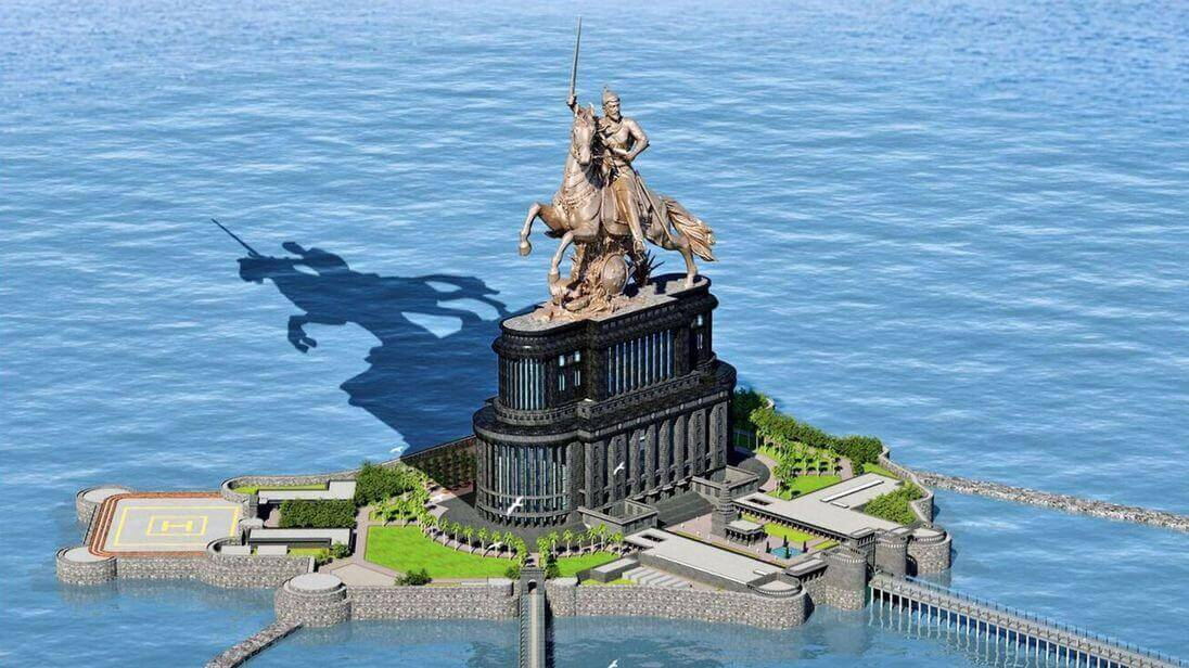 Shivaji Statue: Construction amidst Opposition