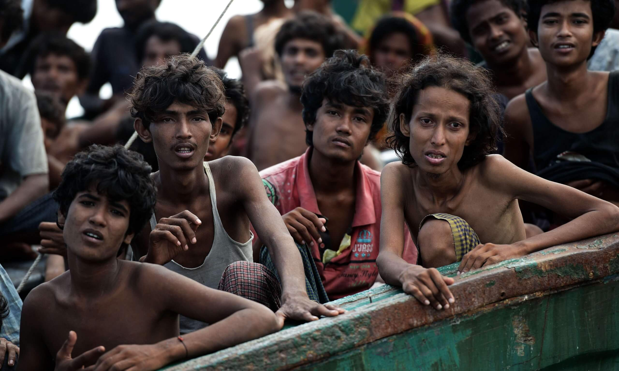 Estranged in native soil : Rohingya
