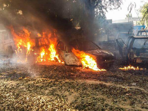 Bulandshahr violence: Blazing Law and Order in the name of COW!