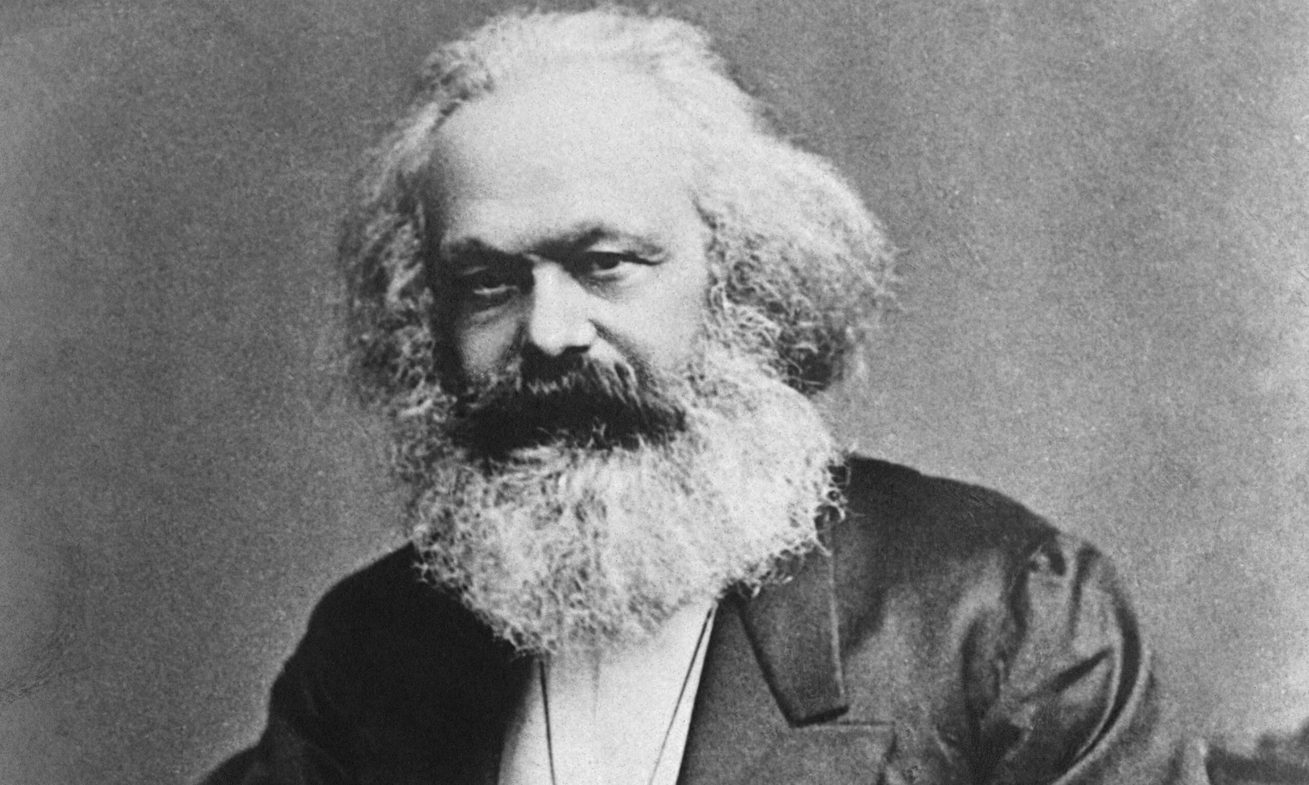 Karl Marx and his island of thoughts